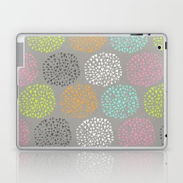 Flowers-triangles Laptop & iPad Skin
