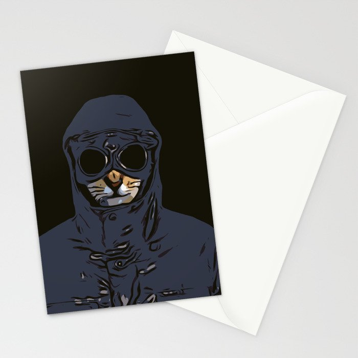Schmitty the Kitty Hooligan Stationery Cards