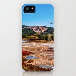 Bear Resort: Caldera Uzon iPhone Case