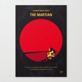 No620 My The Martian minimal movie poster Canvas Print