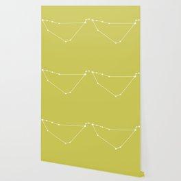 Capricorn Zodiac Constellation - Vibrant Green Wallpaper