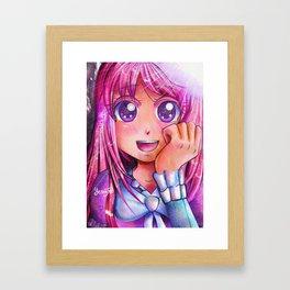Broken Smile Framed Art Print