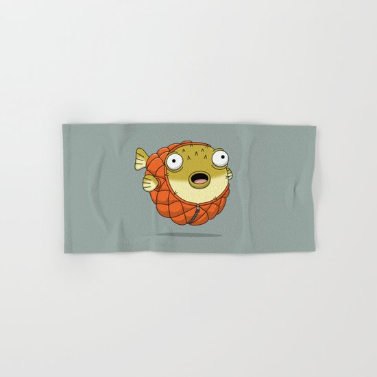 Puffer fish Hand & Bath Towel