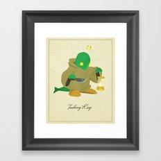 Tonberry King Framed Art Print