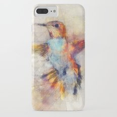 Hummingbird art series iPhone 7 Plus Slim Case