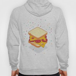 sandwich illustration Hoody