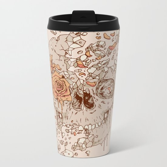 Disintegrate (A Violent Decay):  The Fragile Intensity of Existence Metal Travel Mug