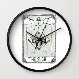 The Sushi Wall Clock