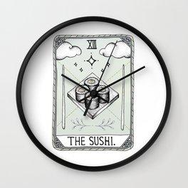 The Sushi Wall Clock
