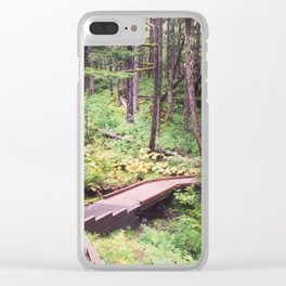 Alyeska Resort, Alaska Clear iPhone Case