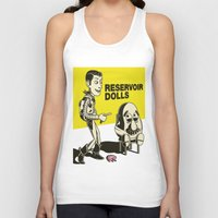 reservoir dogs Tank Tops featuring reservoir dolls  by tshirtsz