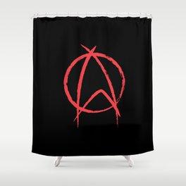 Federation Anarchy Shower Curtain