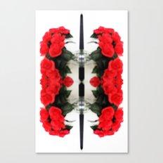 Summer Red Skulls 2012 Canvas Print
