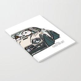 Crazy Car Art 0155 Notebook