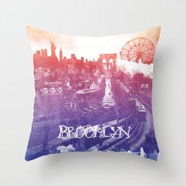 BrooklynToNY Throw Pillow