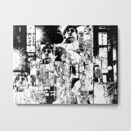 Nightlife 2 - Only the beast left Metal Print