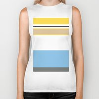 homer Biker Tanks featuring Essential Homer by Jake Bjeldanes