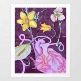 Organic Organ Art Print