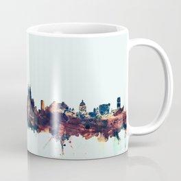 Liverpool England Skyline Coffee Mug