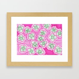 Barnicles and Brusselsprouts Framed Art Print