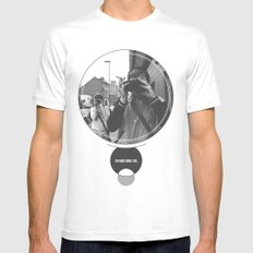 I'm Watching You. MEDIUM Mens Fitted Tee White