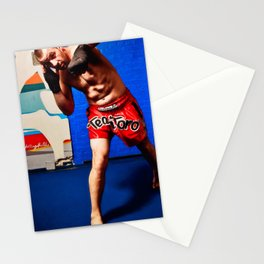 Fight : Punch Stationery Cards
