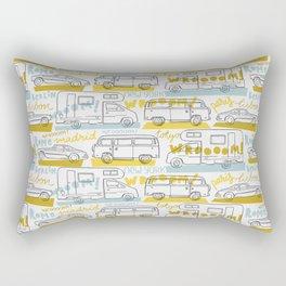 Wanderlust on the road Rectangular Pillow