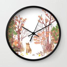 Hide and seek | Miharu Shirahata Wall Clock