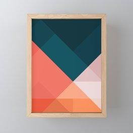 Geometric 1708 Framed Mini Art Print