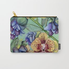 Lost Wing In Bloom Carry-All Pouch