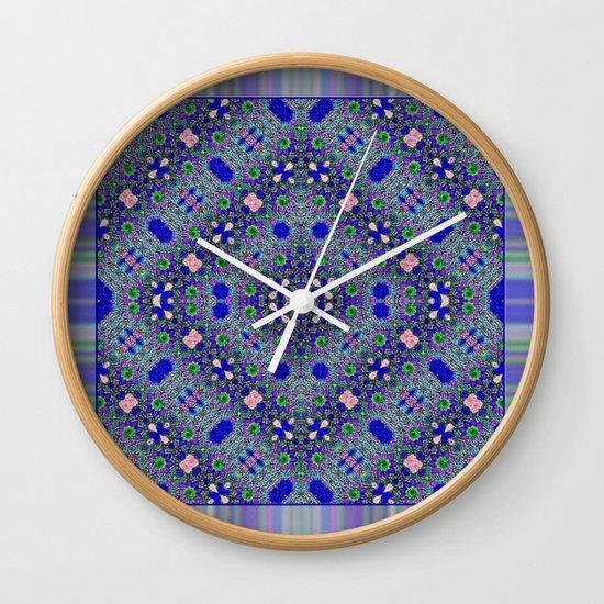 Grecian Garden Wall Clock