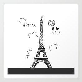 Paris Of Dream Art Print