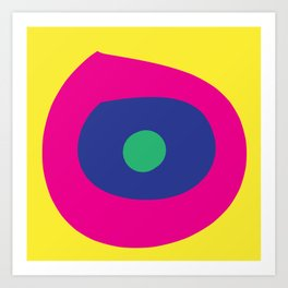 Bright Eye by SuperRay Art Print