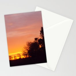 Northern Sunset  Stationery Cards