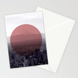 Fuji in the Distance - Remastered Stationery Cards
