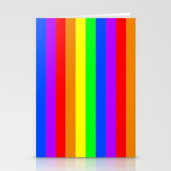 Rainbow Flag - High Quality image Stationery Cards