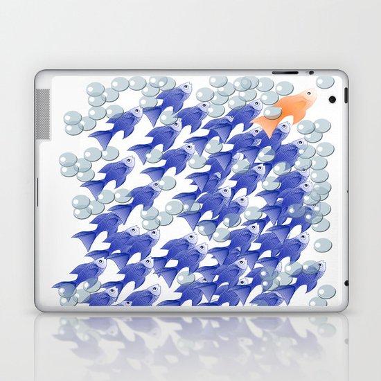 100 fishes Laptop & iPad Skin