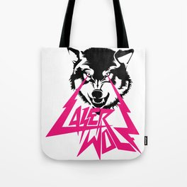 LASER WOLF Tote Bag