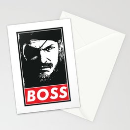 Big Boss - Metal Gear Solid Stationery Cards