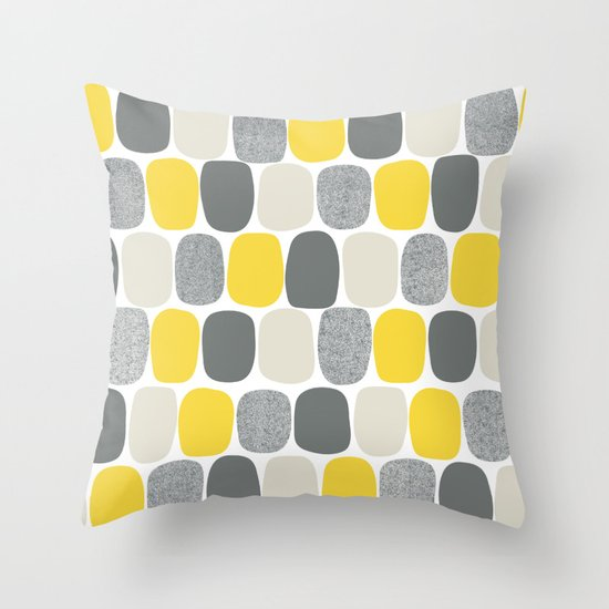 Wonky Ovals in Yellow by beckybailey1