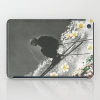 skiing iPad Cases featuring Spring Skiing by Sarah Eisenlohr