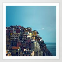 italy Art Prints featuring Italy by Rupert & Company