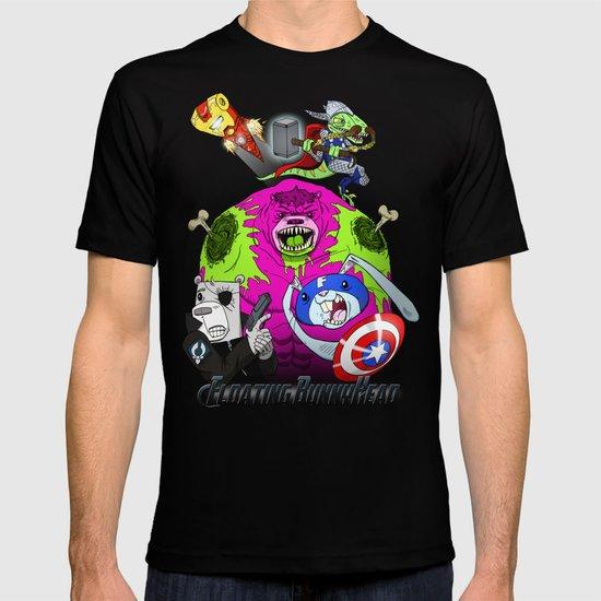 Floating BunnyHead + Avengers T-shirt