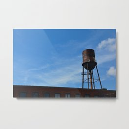 Water Tower Nashville Metal Print