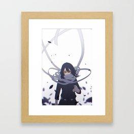 Shota Aizawa My Hero Academia Framed Art Print