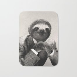 Gentleman Sloth with Assorted Pose Bath Mat