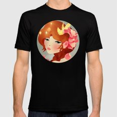 Lily MEDIUM Mens Fitted Tee Black