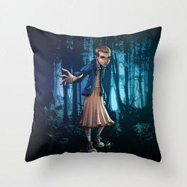 Eleven Throw Pillow