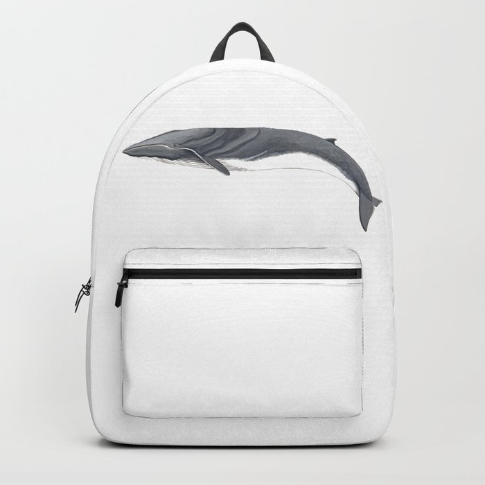 Fin whale Backpack