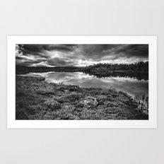 Wilderness landscape Art Print